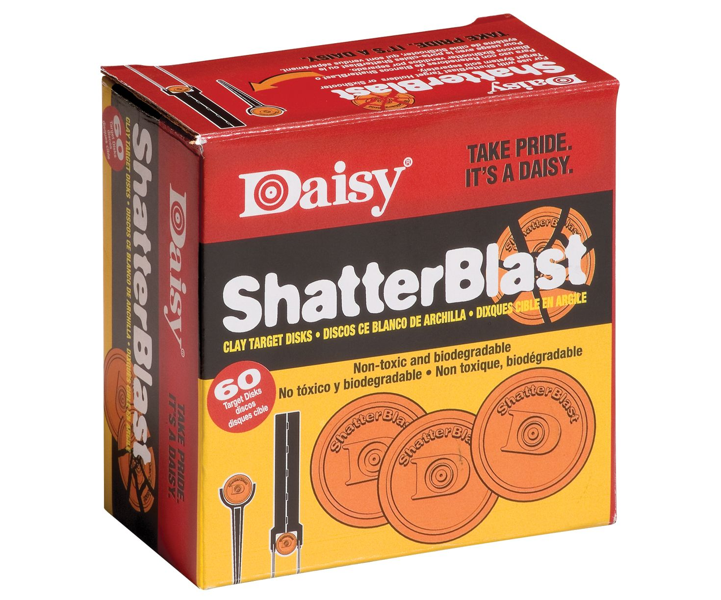 SHATTERBLAST TARGETS BOX FROM DAISY FOR AIR PISTOLS