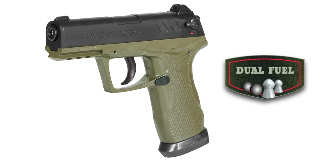 GAMO C-15 BLOWBACK OLIVE DRAB AIRPISTOL