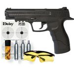 DAISY 415 POWER LINE CO2 AIR PISTOL + KIT PRODUCTS