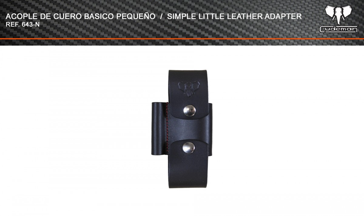 Small basic leather coupling reference 643-N Cudeman