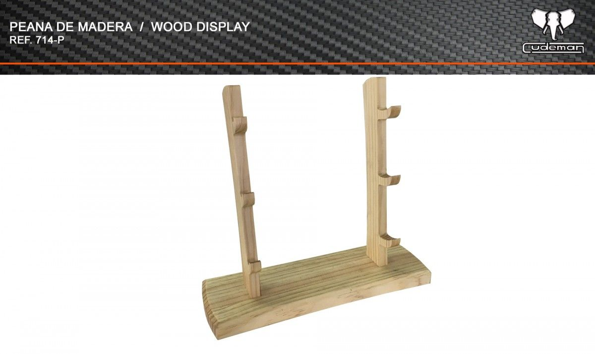 Wooden stand reference 714-P Cudeman