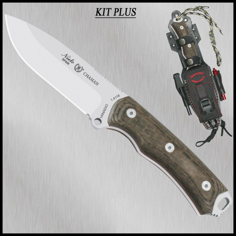 Nieto tactical knife CHAMAN 140-KK PLUS
