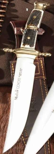 Muela hunting knife COYOTE