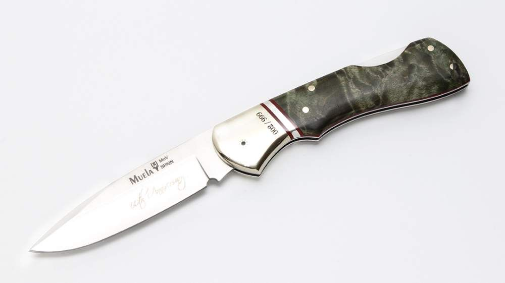 Muela hunting penknife BX-8.TH -Limited edition