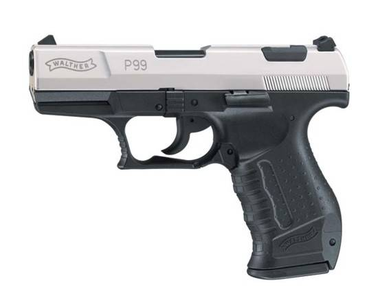 WALTHER P99 NICKEL