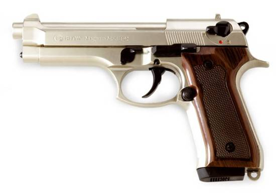 PISTOLA BLOW F92 NICKEL