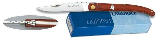 Pocket knife LAGUIOLE Red mikarta. 7 cm
