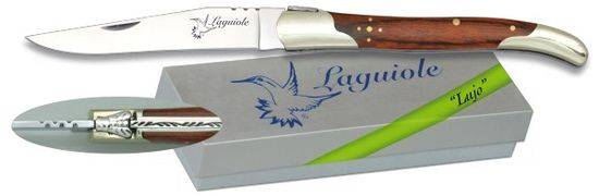 Pocket knife LAGUILE Nickel silver/Stamina 9.5 cm