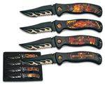 SET 4 Pocket knives ALBAINOX CHOPPER
