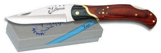Pocket knife LAGUIOLE Mikarta negra