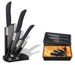 SET Knife ALBAINOX CERAMIC BLACK