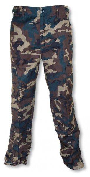 Trousers M-65 Colour: Green-Camo
