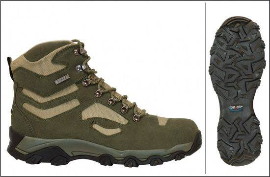 Trekking Footwear BARBARIC Waterproof T46