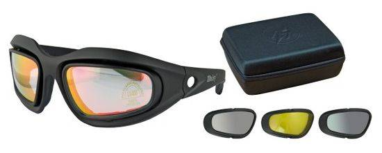 Goggle DINGO. 4 interchangeable lens