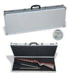 Aluminium briefcase FOR guns