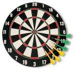 Dartboard Beginners WITH steel tips (6 darts)