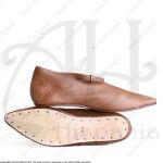 HISPANIC SHOES XII-XIVthC. FOR MEDIEVAL RECREATION