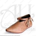 HISPANIC SHOES XII-XIVthC. FOR MEDIEVAL RECREATION MARSHALL HISTORICAL