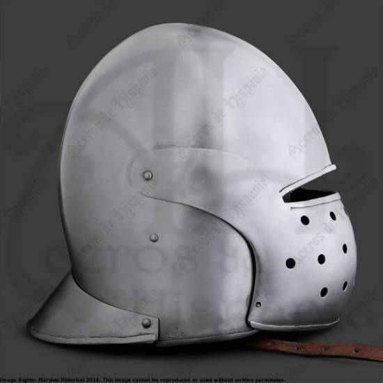 MARSHAL HISTORICAL RECREATION MEDIEVAL EARLY SALLET