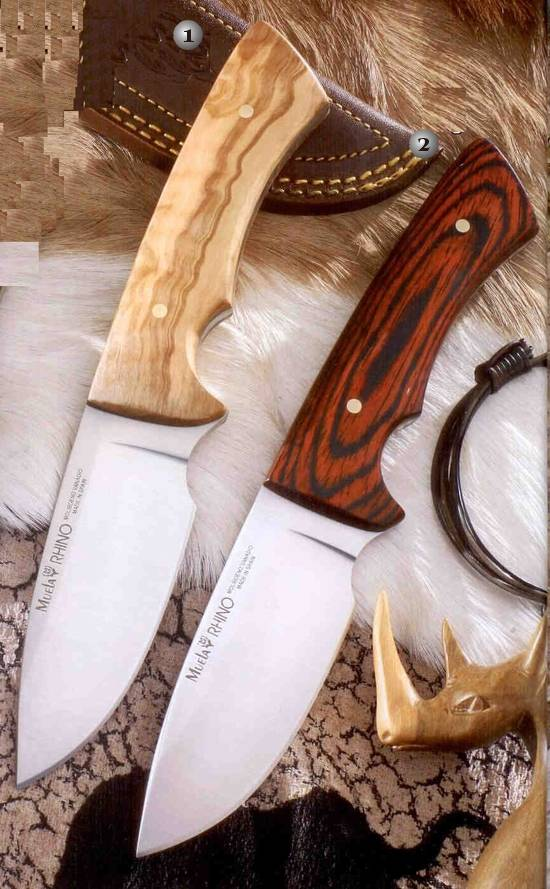 Knives Rhino series of Muela
