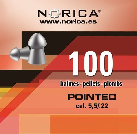 NORICA PELLETS FOR CARBINES AND PISTOLS
