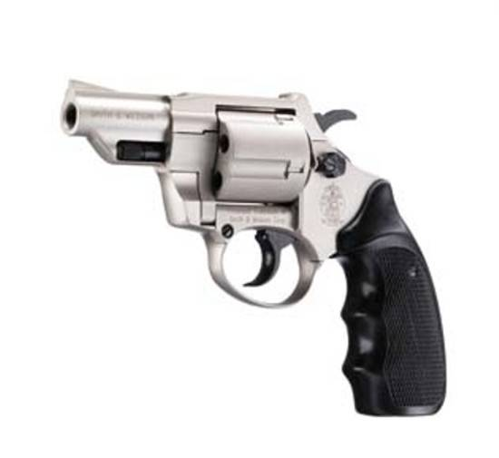 Blank Firing S&W Combat Niquel Revolver  Cal 380 (9mm RK)