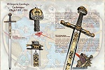 History and details of the sword of Charles I, Charlemagne