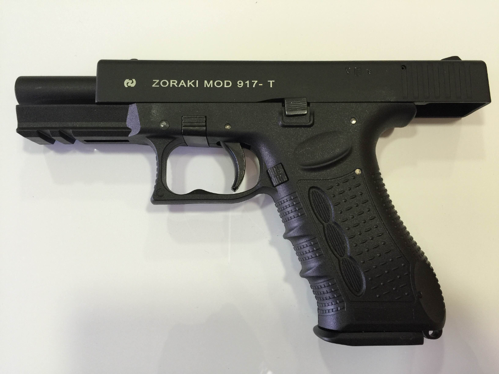 Zoraki 9mm Blank Firing Gun Black 917 Model 9mm