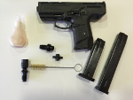 All accessories that compose the alarm pistol Zoraki 925 MEZ04
