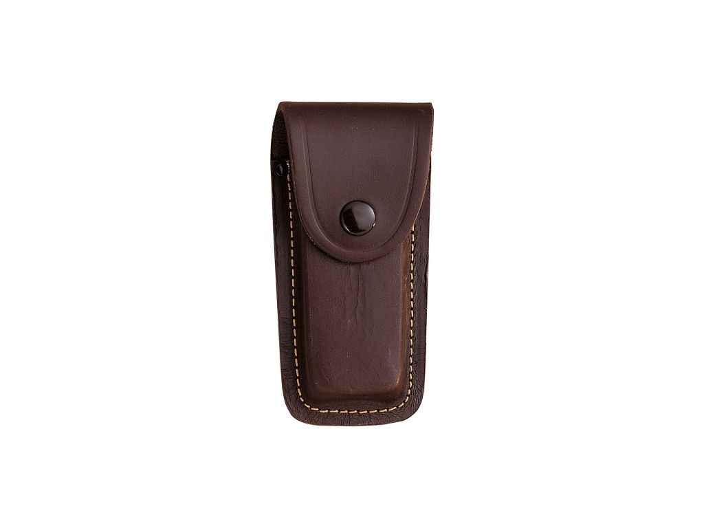 LEATHER SHEATH FOR FOLDING KNIVES  45 X 120 mm