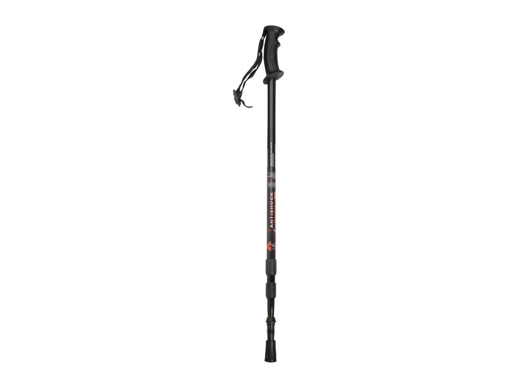 3 EXTENSIONS BLACK HIKING POLE