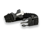 SURVIVAL PARACORD BRACELET WITH FIRE STARTER AND WHISTLE