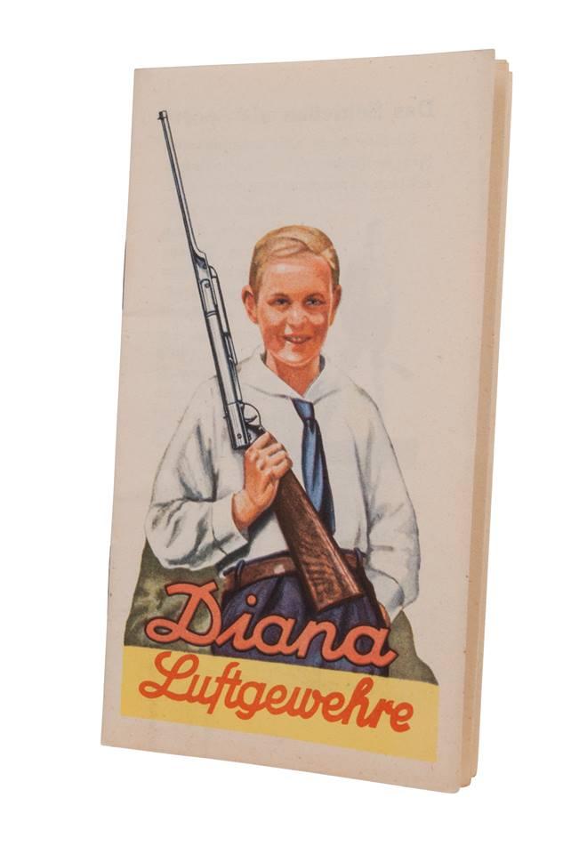 Historia de las pistola y carabinas Diana