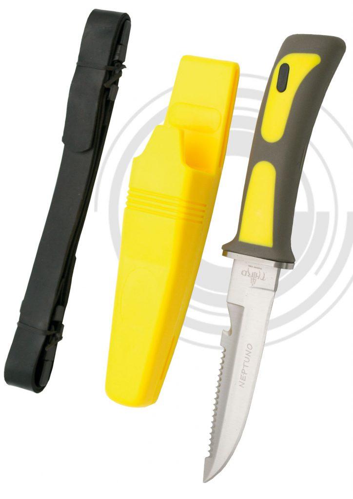 Cuchillo para practicar buceo