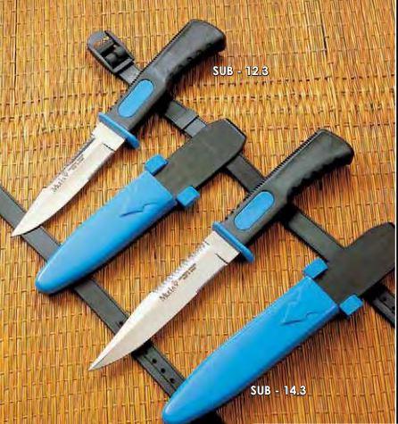 Cuchillo subacuático Muela
