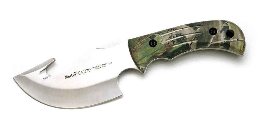 Cuchillo desollador Grizzly