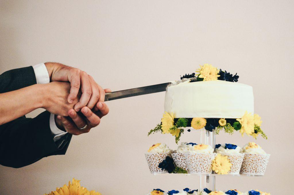 Espadas para cortar tartas de boda