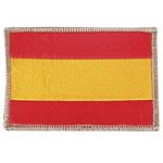 EMBROIDERY PATCH SPAIN C / FILO BEIGE VELCRO
