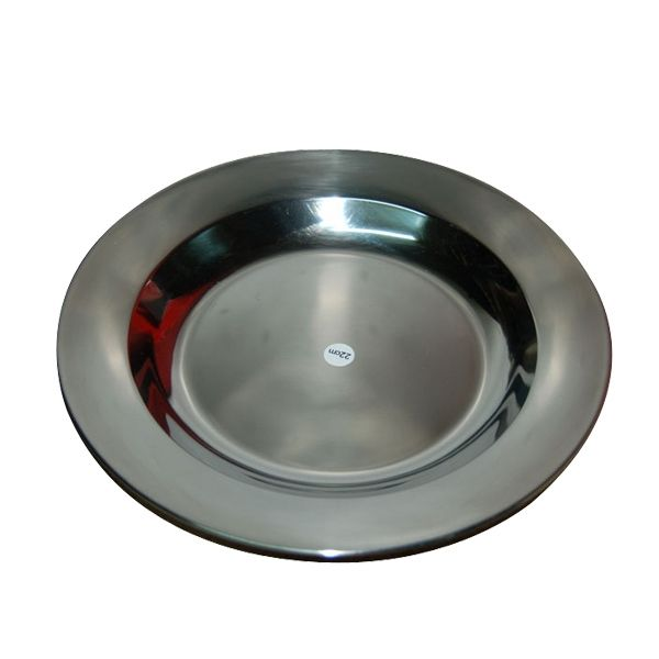 STAINLESS STEEL PLATE CAMPING