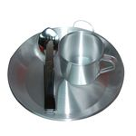 LADLE SET AND COVERED DISH