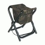 PAINTED ALUMINIUM CHAIR WITH BACKPACK