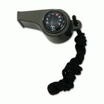 ABS WHISTLE WITH COMPASS THERMOMETER
