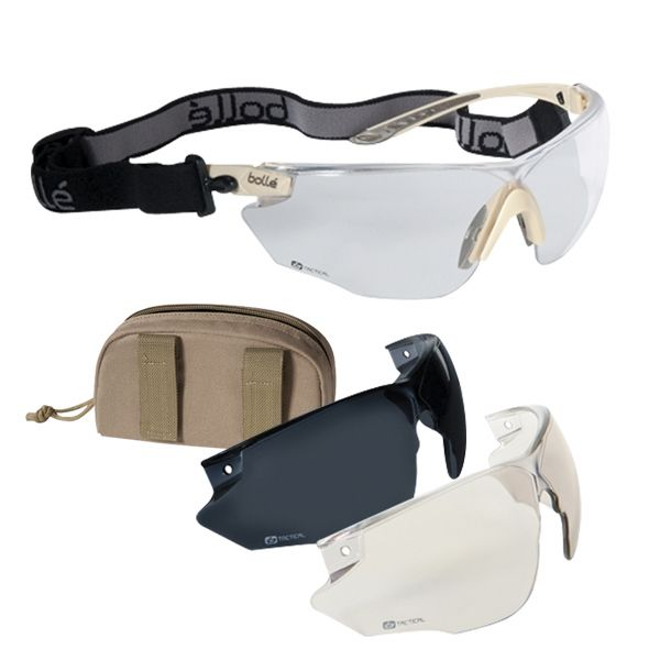 BOLLE SUNGLASSES COMBAT KIT