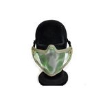 HALF FACE MASK AIRSOFT METAL
