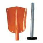 FOLDING SHOVEL WITH COVER