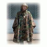 CAMOUFLAGE PONCHO Ribstop