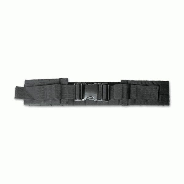 PISTOL BELT BLACK MIL-TEC