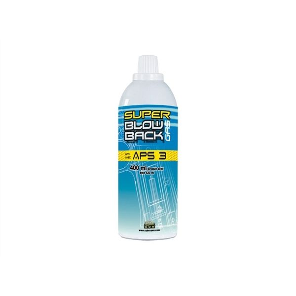 BOTELLA GAS CYBER GUN 400 ML SUPER BLOWBACK