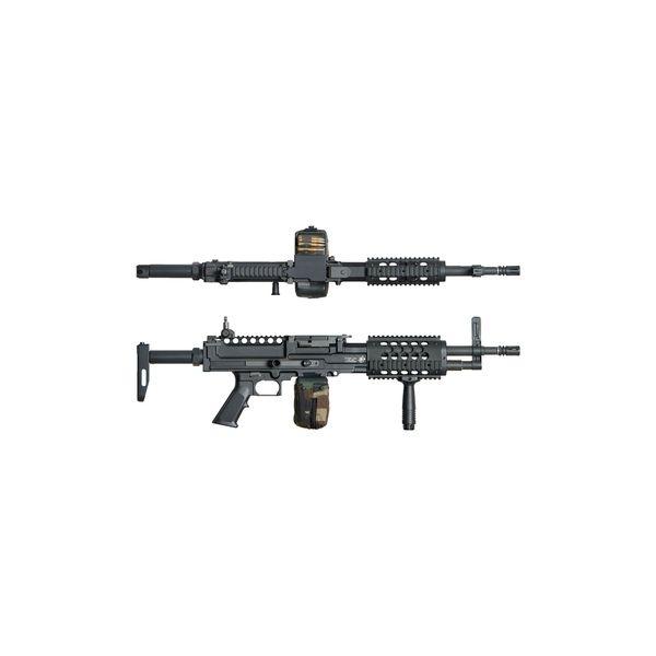 MG FUSIL ARES BLACK SUPPORT