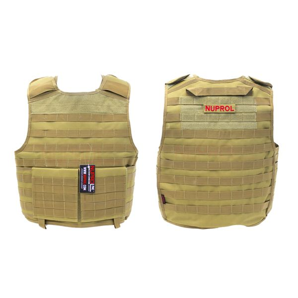 CHALECO NUPROL PMC PLATE CARRIER TAN